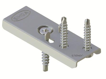 300 Edelstahl DielenFix DF22 zur unsichtbaren Befestigung von Holzterrassen empfohlen für ca. 50-75 lfm mit einer Stärke von 24-27 mm