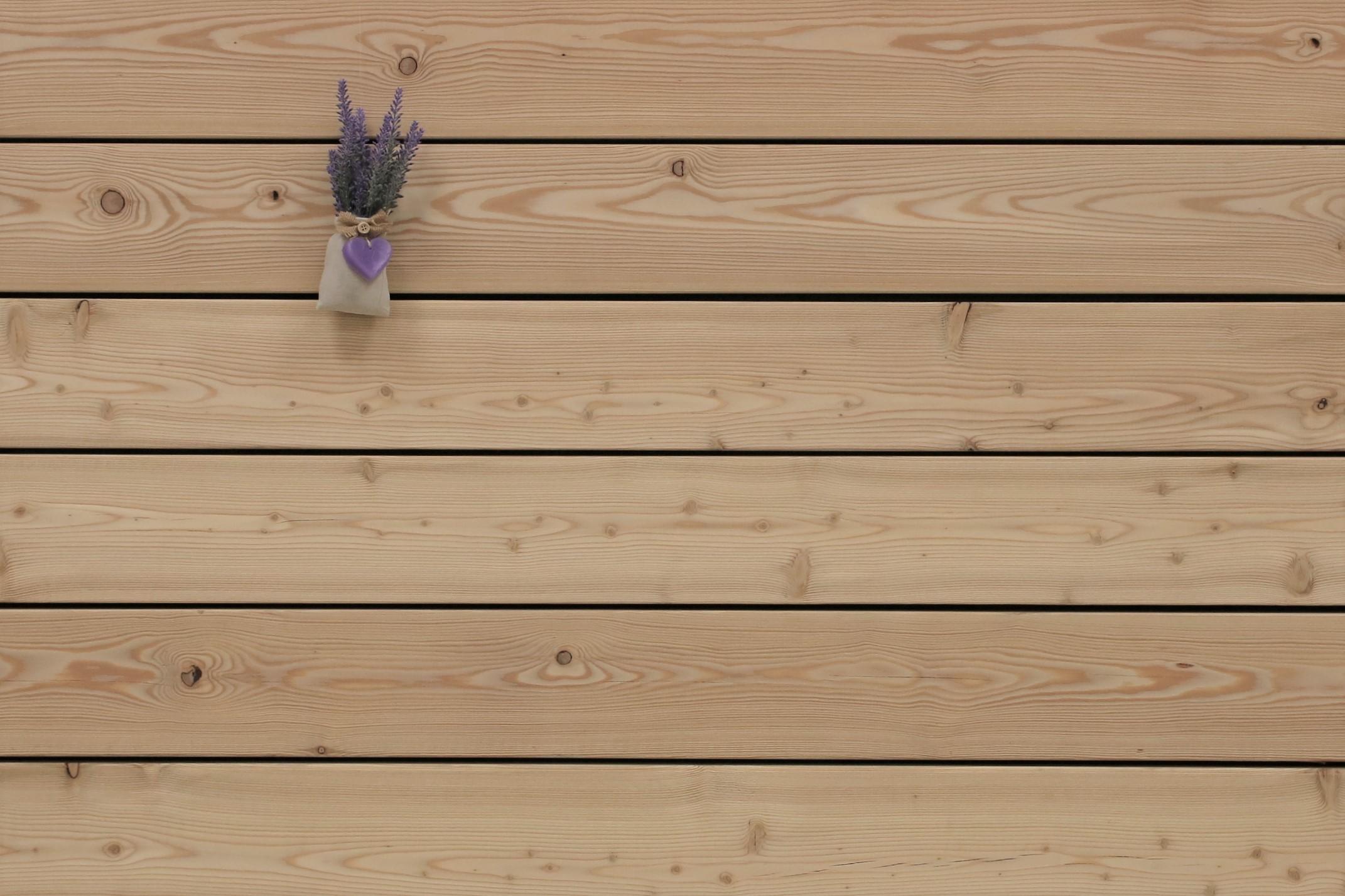 Angebot des Monats, Holzterrasse Sibirische Lärche, glatt, AB Sortierung, 26 x 143 bis 6000 mm Dielen, Holz Bretter für die Terrasse, 6,90 €/lfm