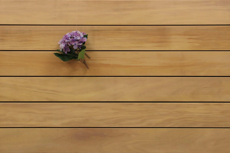 Holzterrasse Garapa, glatt, 25 x 145 bis 6100 mm Dielen, Premium (KD) Holz Bretter für die Terrasse, 11,80 €/lfm