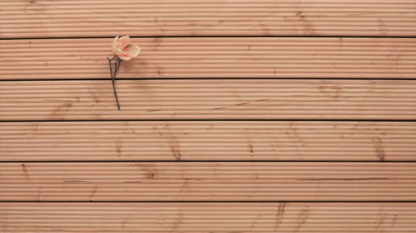 Holzterrasse Douglasie, grob genutet, 26 x 145 bis 5000 mm Dielen, Holz Bretter für die Terrasse
