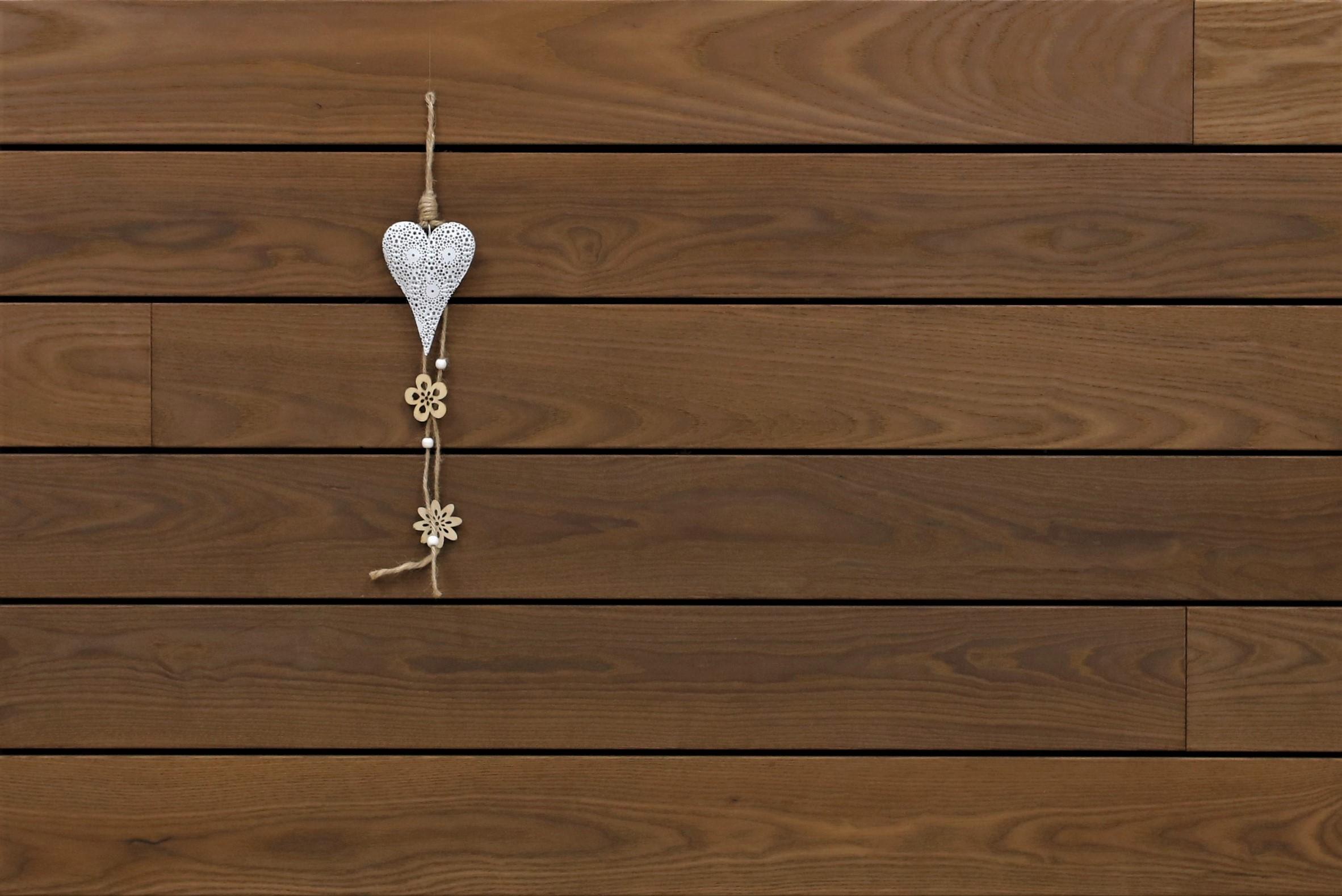 Holzterrasse Thermoesche, glatt, stirnseitig Nut / Feder Verbindung, 21 x 130 von 1800 bis 3000 mm Dielen, Premium (KD) Holz Bretter für die Terrasse, 10,95 €/lfm