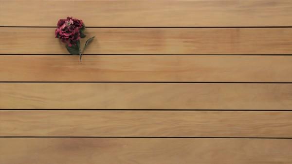Holzterrasse Garapa, glatt, 45 x 145 bis 6100 mm Dielen, Premium (KD) Holz Bretter für die Terrasse
